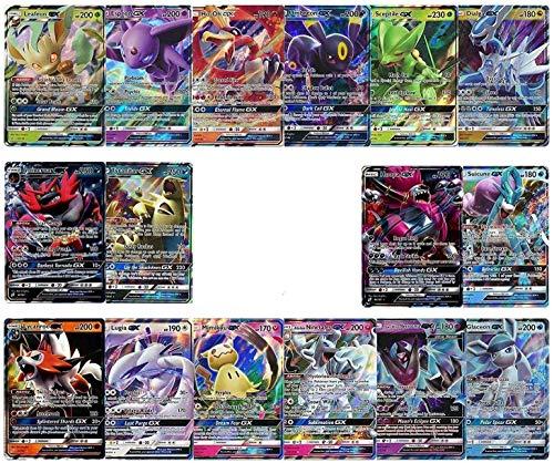 100 Poke Cards Plus 20 Energy - Bonus 2 Legendary and/or Ultra Beast Poke GX, EX, or V Ultra Rare Cards! Includes Perfect Box!