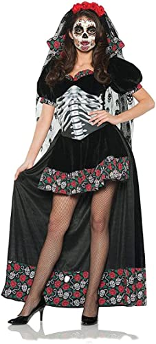 Day of the Dead Senorita Adult Costume Medium