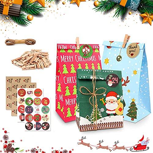 Papel Regalo Navidad Kraft Marca YISKY
