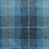 Loome Harris Tweed Fabric, Tarbert Plaid, 10 x 14 cm