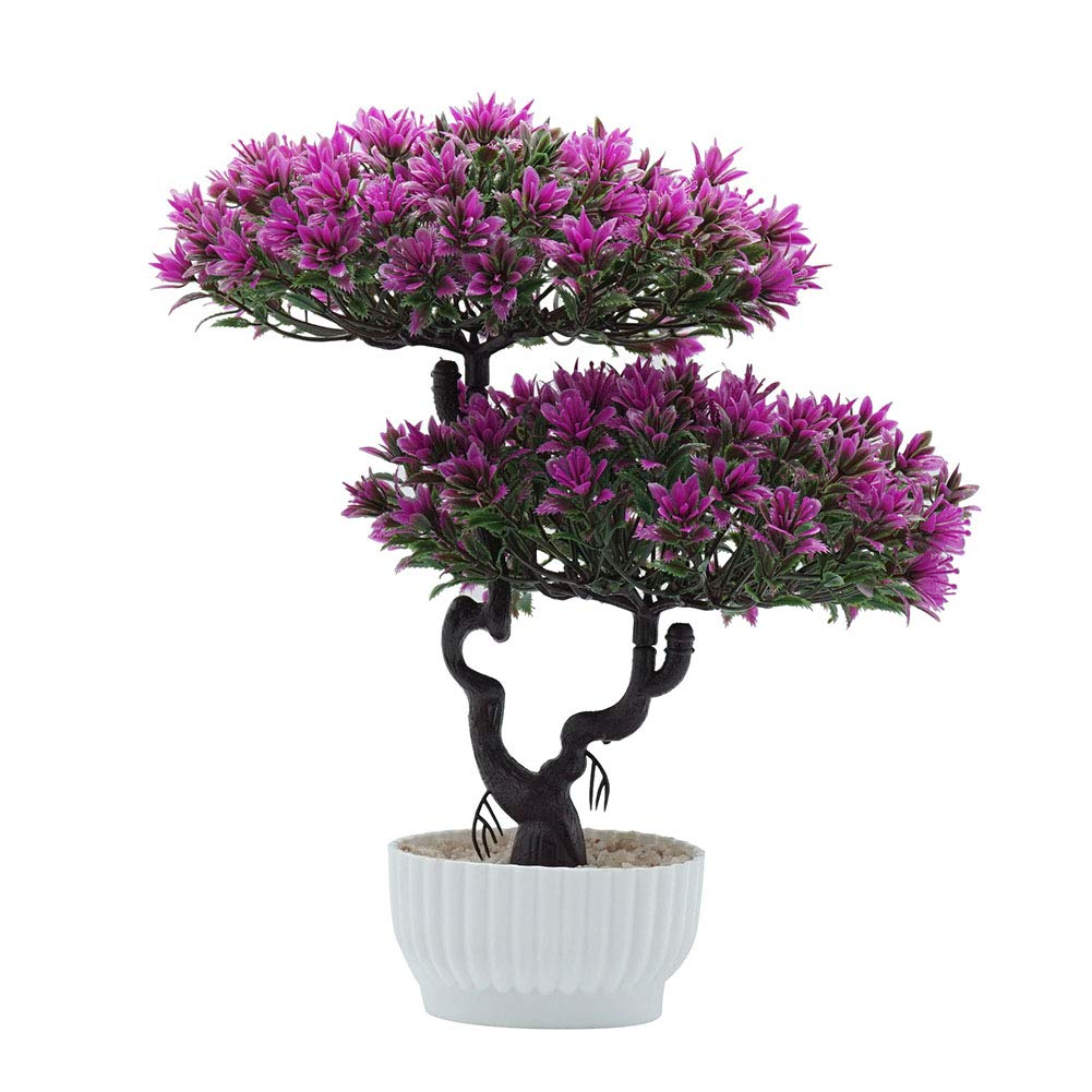Whiie891203 1Pc Artificial Fruit Orange Tree Bonsai Fake Flower Greenery Plant Decoration for Office Stage Party Living Room Home Desk Wedding Photography Prop DIY Decor Orange