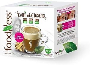 Foodness Ginseng e Collagene Compatibile Nescafe' Dolce Gusto 40 Capsule