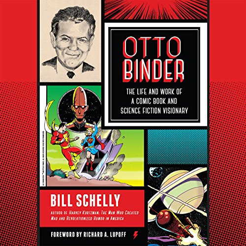 Otto Binder audiobook cover art