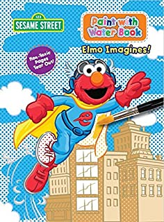 Sesame Street Paint with Water Activity Book - Elmo Imagines