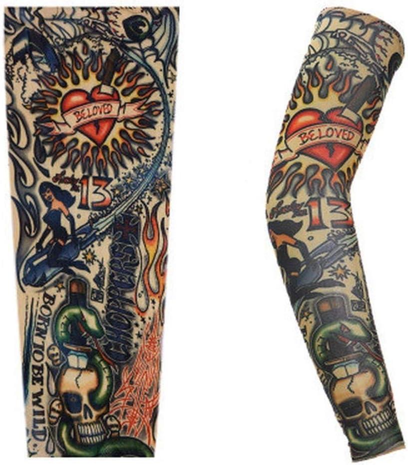 Mecha 1pcs tatuaje Impreso brazo de la cubierta de protección ...