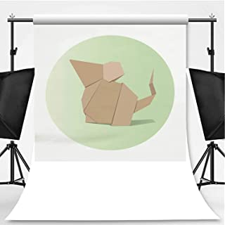 Animal Origami Vector Photography Background,132476 for Photo Studio,Pictorial Cloth:6x10ft