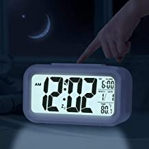 RK enterprise Digital White Clock | Digital Clock for Home, Digital Clock for Table, Desk Clock, Desk Clock for Office