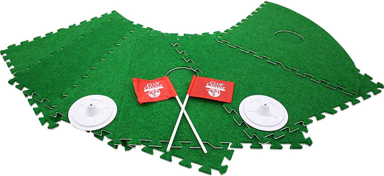 ExpandaGreen Felt Foam 10panel Modular Putting System (1.1m x 2.4m)