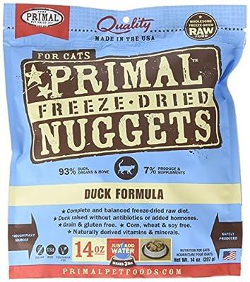 Primal Freeze Dried Feline Duck Formula - 14 Oz.