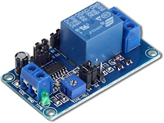 UCTRONICS DC 12V Timing Delay Relay Module for Smart Home Tachograph GPS PLC Control Industrial Control Electronic Experim...