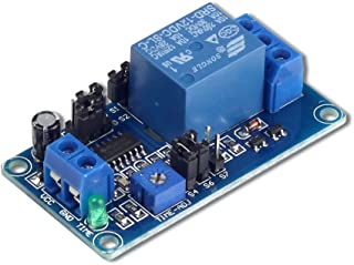 UCTRONICS DC 12V Time Delay Relay Module for Smart Home, Tachograph, GPS, PLC Control, Industrial Control, Electronic Expe...