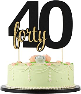 Astounding 10 Best Black Number Cake Toppers Reviewed And Rated In 2020 Funny Birthday Cards Online Inifofree Goldxyz