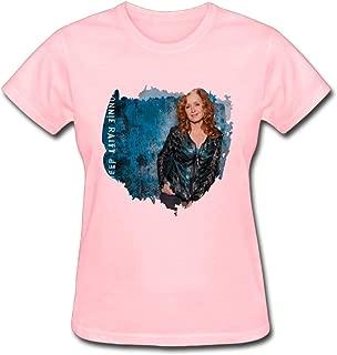Refined Bonnie Raitt Dig in Deep 2016 Women's Cotton Short Sleeve T-Shirt
