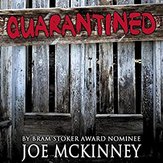 Quarantined audiobook cover art