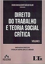 Direito Do Trabalho E Teoria Social Crítica Volume I