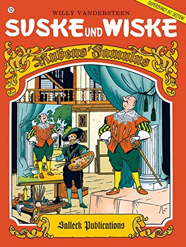 Suske und Wiske 12: Rubens' Famulus (Comic)