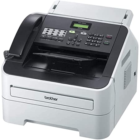 brother プリンター A4モノクロレーザー複合機 JUSTIO 20PPM/FAX/ADF/受話器 FAX-2840