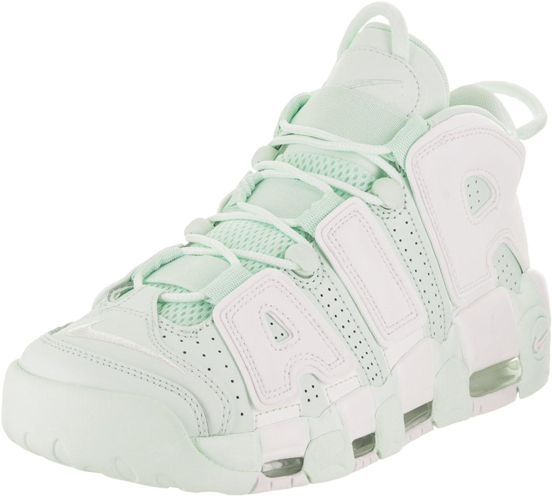 78b2a051cab51b Nike Nike Nike AIR WMNS AIR MEHR Uptempo Schuhe in grünem Leder 917593-300  B00IFOJYS2