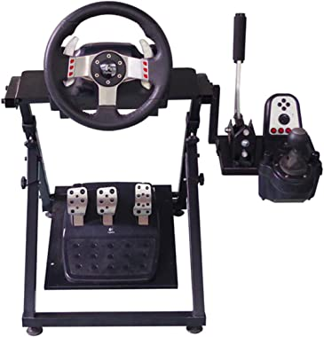 Dshot Tilt Adjustable Steering Racing Wheel Stand for Logitech G29 Gaming Wheel,Supporting G920 G27 G25 Thrustmaster T500RS, T300RS, TX Ferrari F458 Fanatec PS4 Xbox PC
