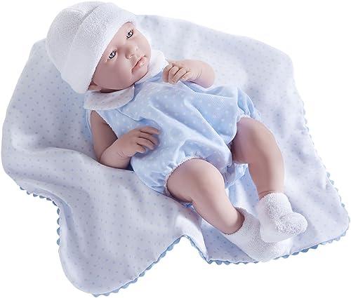 Berenguer bébé reborn sexué 43 cm avec couverture douce