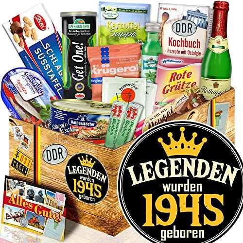 Legenden 1945 / 74. Geburtstag, 75. Geburtstag / Ostalgie Spezialitäten