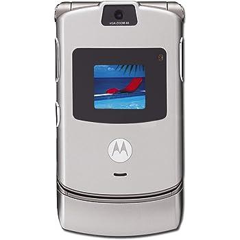 Verizon Wireless Motorola RAZR V3m - Silver