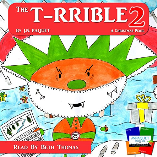 The T-RRIBLE 2 audiobook cover art