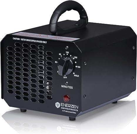 Amazon.com: Enerzen Ozone Generator 6,000mg Industrial O3 Air Purifier Deodorizer Sterilizer (6,000mg - Black): Home & Kitchen