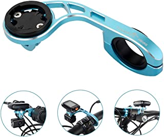 TrustFire Garmin Edge Bike Computer Mount Front Bryton GPS Handlebar Mount for Garmin Edge 1030 520 Plus 820 810 800 510 500 200 130 25, Compatible with 31.8mm 25.4mm