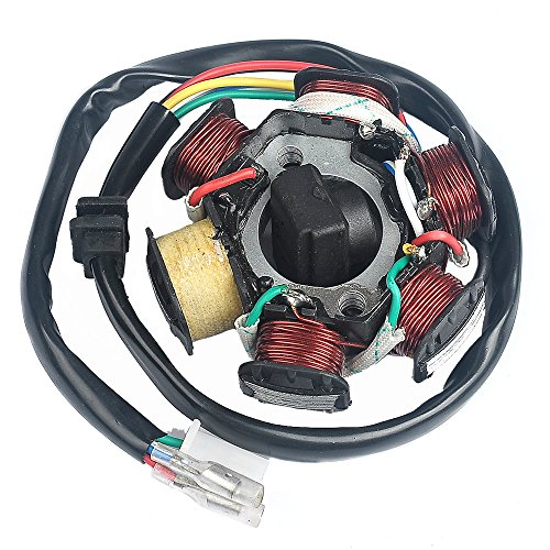 Savior Ignition Stator Magneto AC 6 Pole Coil for GY6 150 150cc Scooter Moped ATV Dune Buggy Go Kart