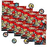Power Rangers Party Favors Set -- 12 Power Rangers Megaforce Power Coins Packs (Party Supplies)