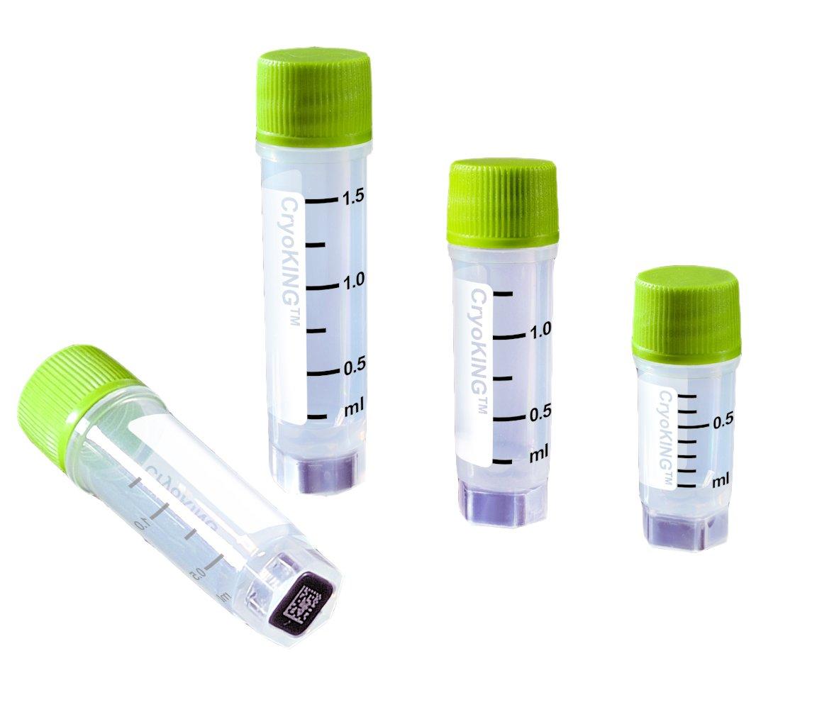 Biologix 88-1152 Polyethylene CryoKING Cryogenic Indefinitely o shop Pack Vial 2D
