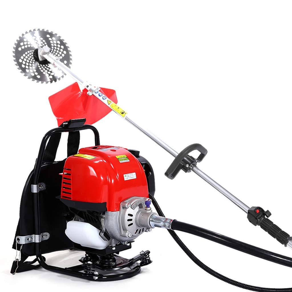 ZM-Lawn mower Cosechadora 1700w De Cuatro Tiempos con Mochila ...