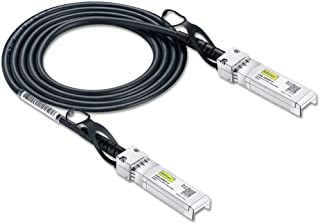 10G SFP+Cable 10GBASE-CU Twinaxケーブル Cisco SFP-H10GB-CU0.5M/Ubiquiti/D-Link/Supermicro/Netgear/Mikrotik/ZTE Devices/F5互換 0.5m【3年保証】