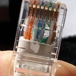 RJ45 Fittings UL ETL CMR Broadband Internet Modem Cable 11 feet, Green PHAT SATELLITE INTL Solid Pure Copper 23AWG 4-Pair UTP CAT6 CMR Riser LAN Network Ethernet Patch Cord Assembled in USA