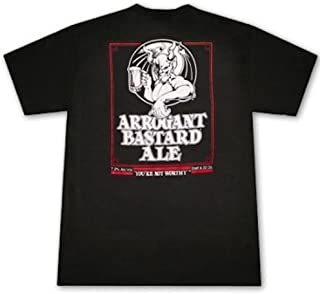 Stone Brewing Co. Men's Arrogant Bastard Ale T-Shirt