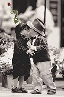 Wizard The First Kiss Kim Anderson Photo Art Print Poster 24x36 inch