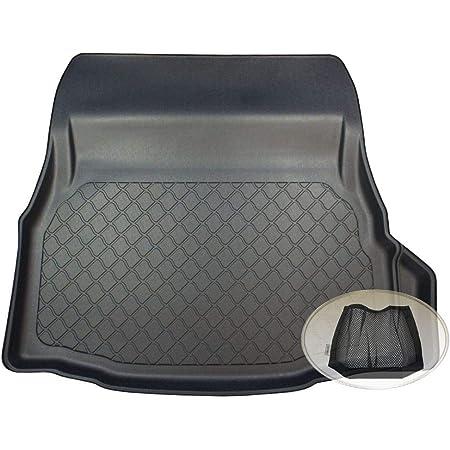 Zentimex Z3111048 Gummierte Kofferraumwanne Fahrzeugspezifisch Klett Organizer Laderaumwanne Kofferraummatte Auto