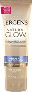 Jergens Nat Glw Med Bdy Size 7.5z Jergens Natural Glow Daily Firming Moisturizer, Medium Skin Tones