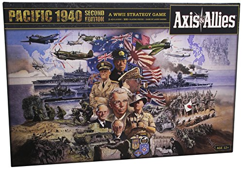 Avalon Hill / Wizards of the Coast A0626 - Juego de Mesa Axis & Allies: Pacific 1940 2nd Edition (Instrucciones en inglés)