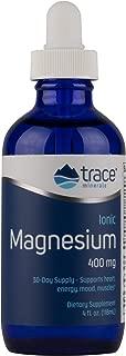 Trace Minerals Liquid Ionic Magnesium, 400 mg, 4 Ounce