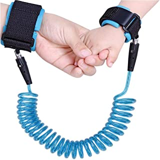 Baby Anti Lost Wrist Link Children Outdoor Safety Hook and Loop Hand Belt Toddlers Safety Harness Leash Wristband for Kids and Parents