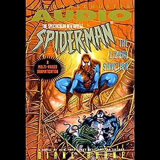 Spider-Man: The Lizard Sanction audiobook cover art
