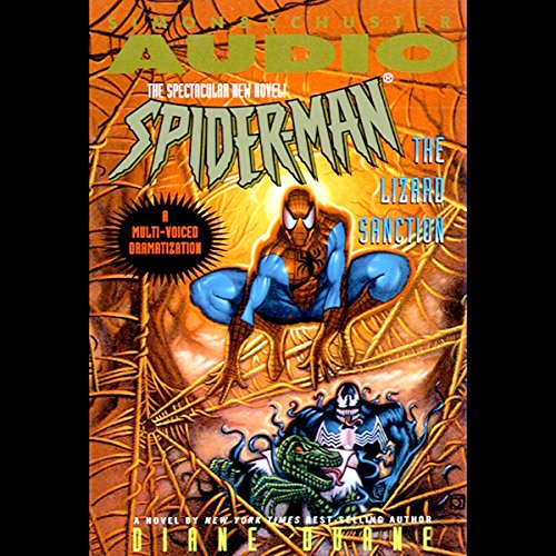 Spider-Man: The Lizard Sanction audiobook cover art