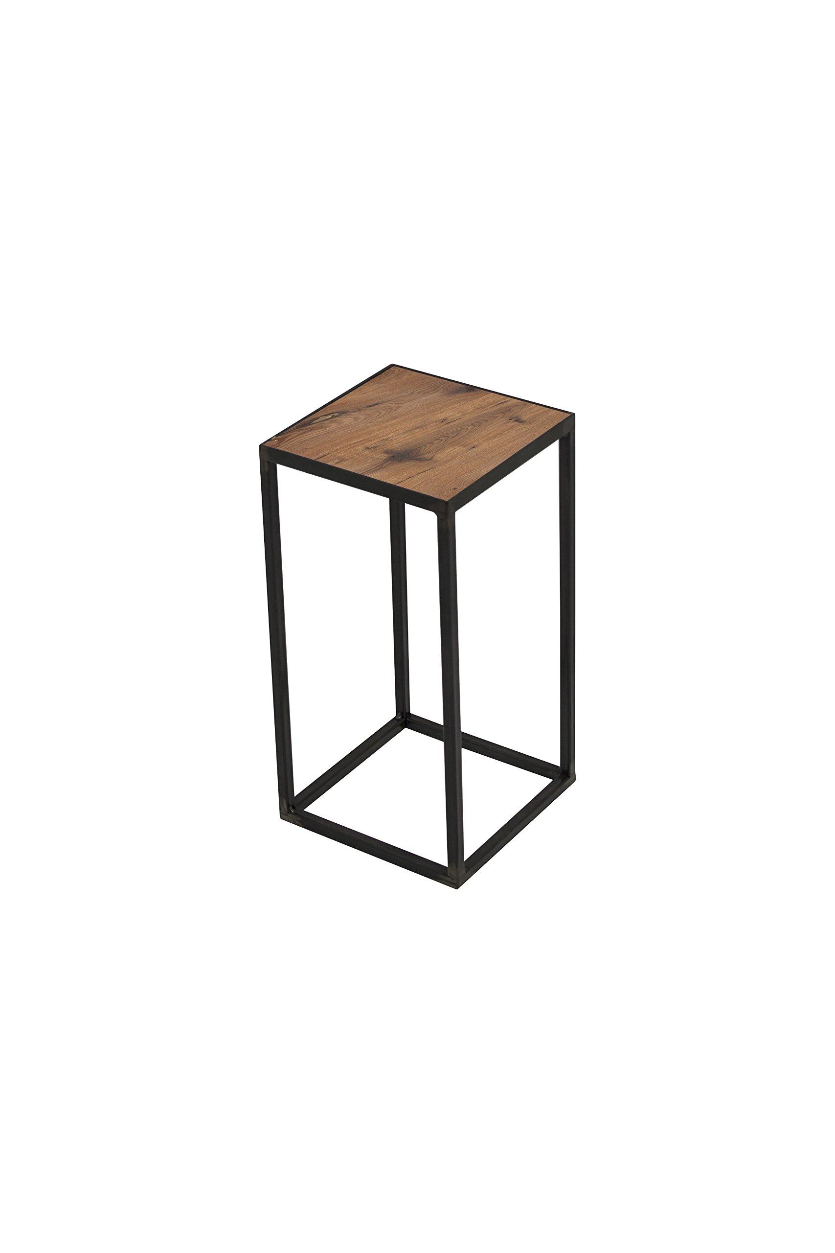 Spinder Design John - Soporte 20 x 20 x 40 - Herrero eeisern/Roble ...