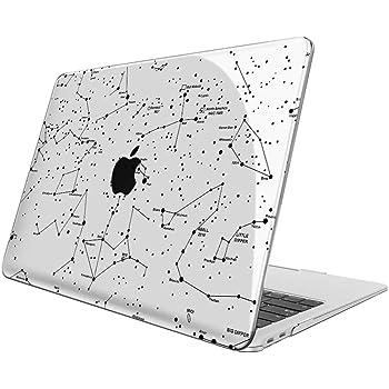 Rose Clair - Haute Qualit/é Plastique Transparent Dur /étui Housse A1932 FINTIE Coque pour Nouveau MacBook Air 13 2019 2018