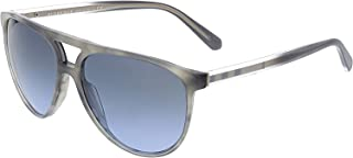 BURBERRY Men's Mirrored BE4254-36588F-58 Grey Aviator Sunglasses