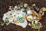 Mäser 929877 Bel Tempo I Frühstück-Service für 6 Personen im Vintage Look, handbemalte Keramik, Geschirr-Set 18 Teile, Steingut, Beige - 8