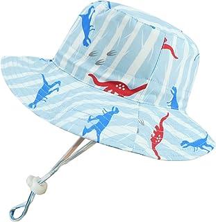 Mengar UPF 50+ Kids Sun Hat Fisherman Hat, Reversible Cotton Bucket Hats UV Sun Protective