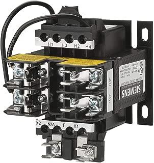 Siemens MT0100B Industrial Power Transformer, Domestic, 240 X 480 Primary Volts 50/60Hz, 24 Secondary Volts, 100VA Rating